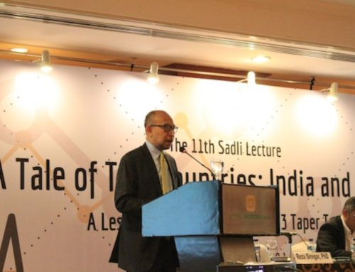 The 11th Sadli Lecture: A Tale of Two Countries