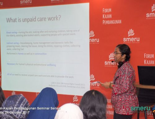 [FKP at SMERU] Unpaid Care Work in Indonesia: Why Should We Care?